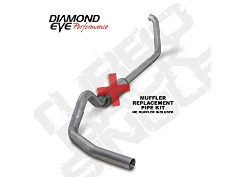 - Diamond Eye K4318A-RP Turbo-Back Exhaust Kit