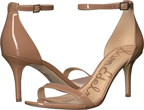 Sam Edelman Damen Patti Pumps Dark Nude Patent