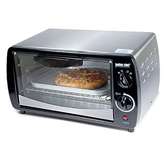 Amazon.com: Mejor Chef im-269sb tostador horno Plata 300 W 9 ...