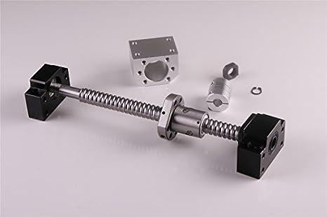 Ball Screw Ballscrew SFU1605-1550mm+BK//BF12+6.35*10mm Couplers+Ballnut Housing