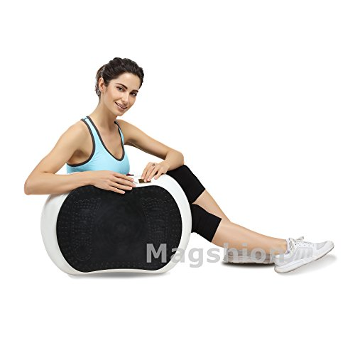X-MAG Portable Whole Body Vibration Fitness Trainer Platform Machine with Straps