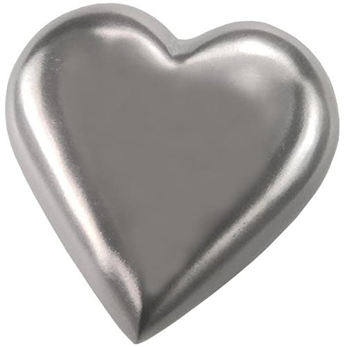 Memorial Gallery Pets 8282 Pewter Heart w stand Pewter Heart with Display Stand Pet Urn Keepsake