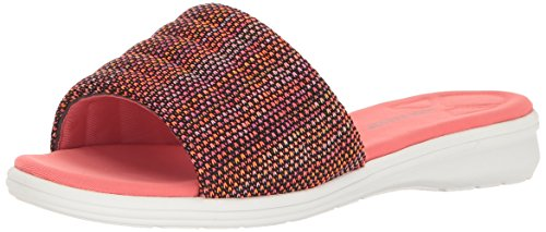Aerosoles Womens Great Call Wedge Slide Sandal