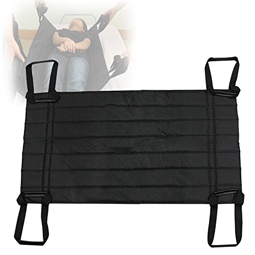Genmine Patient Lift Sling, Full Body Elderly Lift Stairs Transfer Turner Aid Strap Belt Disability Care Supplies Portable by Genmine