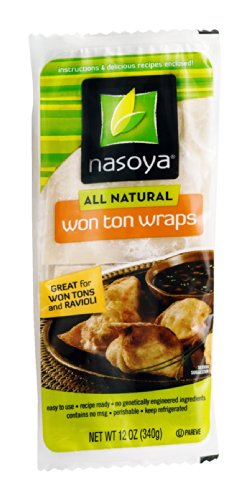 Nasoya All Natural Won Ton Wraps, 12 Ounce -- 6 per case.