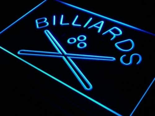 Jintora - Neon Sign - señal de neón - Billiards Pool Cue Room Bar ...