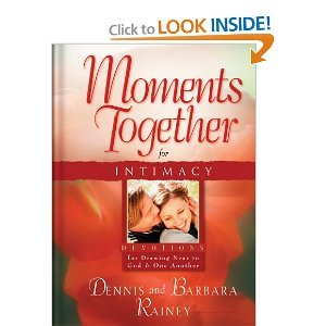 Paperback Moments Together For Intimacy by Dennis & Barbara Rainey (Paperback) Book