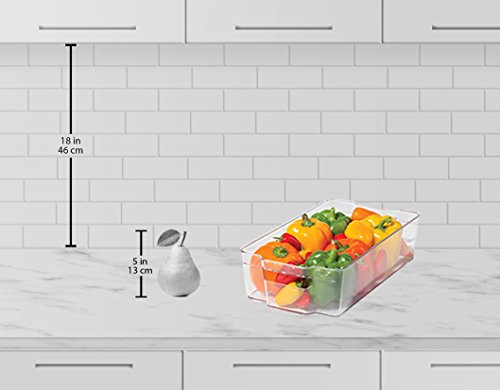 Sorbus Fridge Bins And Freezer Organizer Refrigerator Bins