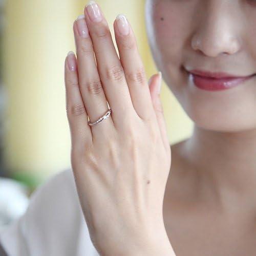4℃(ヨンドシー) ダイヤモンド K10ホワイトゴールド(WG) リング 日本サイズ12号 111246143211