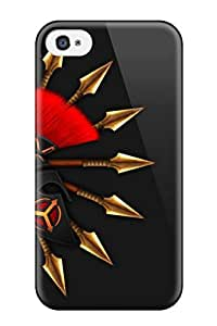 Excellent Design Artistic Abstract Artistic Phone Case For Iphone 4/4s Premium Tpu Case