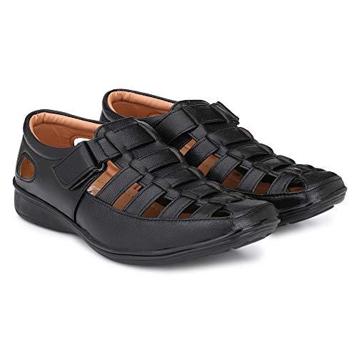 41 Vv8BK5KL. SS500  - Amico Fine Leather Men's Sandals