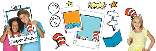 Dr Seuss Decorations (Paper Magic Eureka Dr. Seuss School Selfie School Selfies)