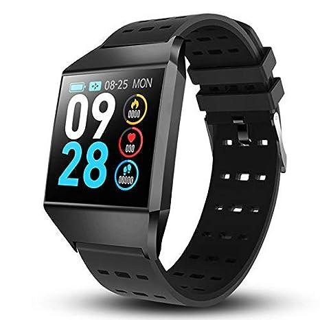 Mnjin Reloj Deportivo Smart Watch W1C Ip68 Impermeable Frecuencia ...