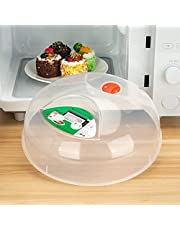Microwave Splatter Cover Microwave Cover for Food Microwave Plate Cover Microwave Bacon Food Cover Cooker Lid with Steam Vents 11.5 Inch BPA Free,Dishwasher Safe
