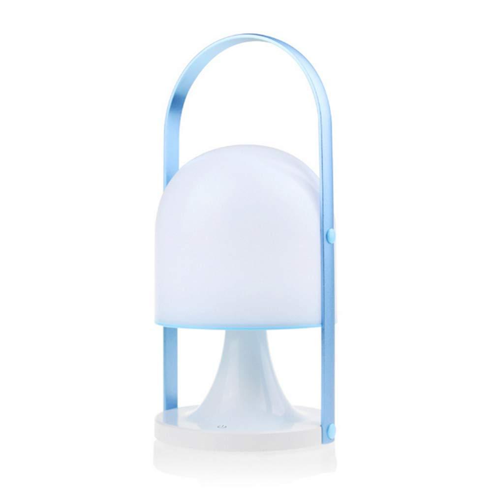 Lanterna da Campeggio a LED USB Ricaricabile, Lampada da Tavolo, Lampada da Tavolo, Impermeabile, Luce di Emergenza, Tenda da Campeggio per Esterno, 3 Livelli di luminosità,blu