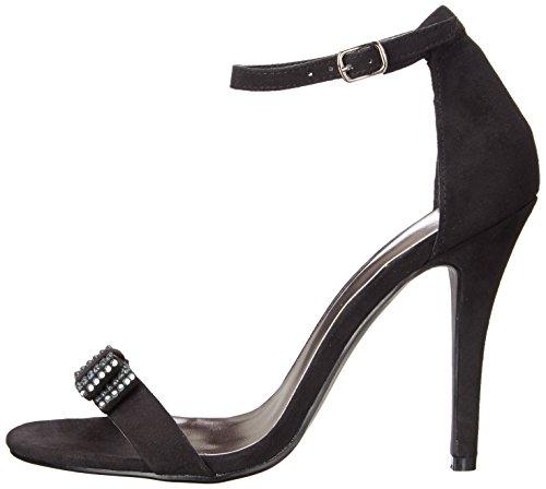 887865274490 - Madden Girl Women's Darlaaa Dress Sandal, Black Fabric, 7.5 M US carousel main 4