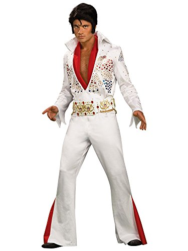 Rubie's Men's Elvis Grand Heritage Costume White