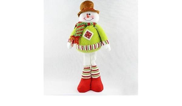 Bheema Navidad de la alta calidad de la decoración de la muñeca de regalo de Navidad del muñeco de nieve de la muñeca: Amazon.es: Bebé