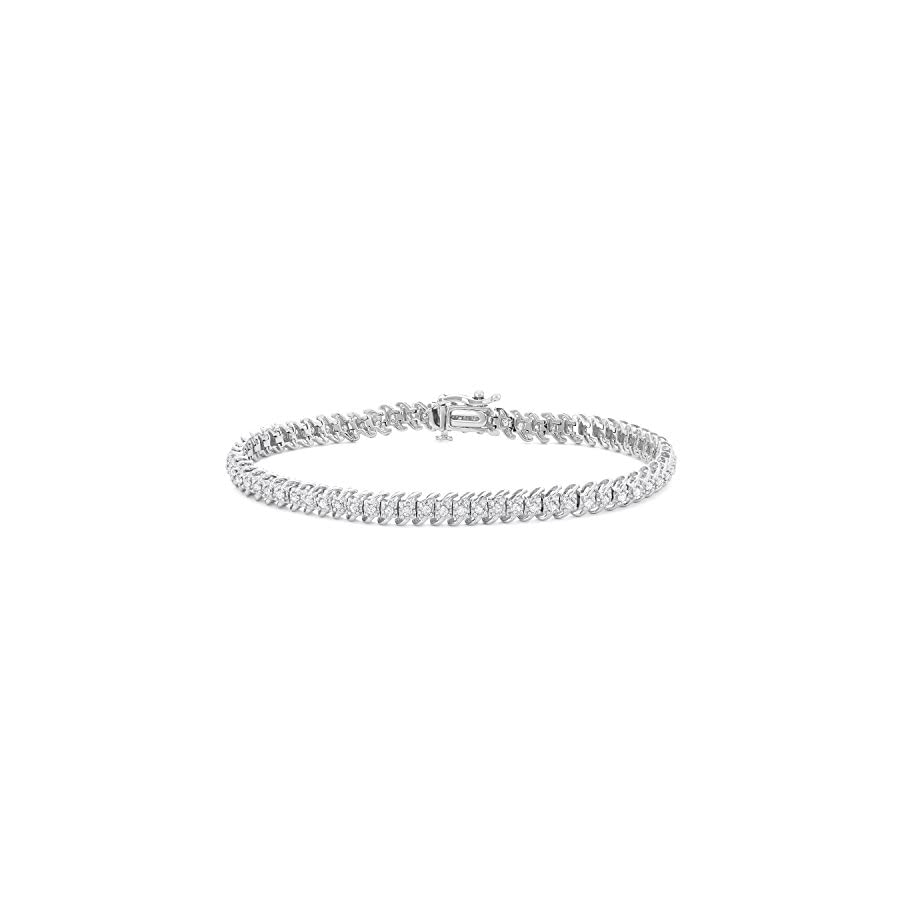 1 CTTW Diamond Tennis Bracelet in 10KT Gold