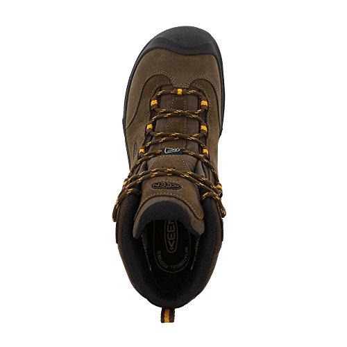 Keen Wanderer Mid Waterproof Scarpe da Passeggio - earth-golden yellow Venta En Línea Almacenista Geniue 2oABqnF