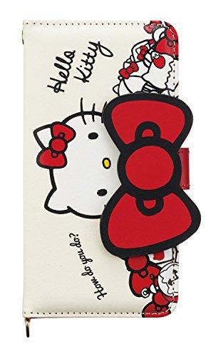 Hello Sanrio Apple Kitty (Hello Kitty iPhone 6s / 6 Case (ribbon) Sanrio store plush kawaii 2016 NEW Japan Import)