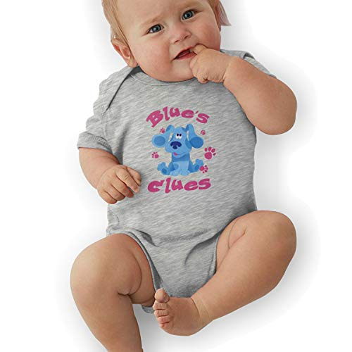 (Baby Bodysuit, Blue's Clues Dog Baby Girls' Cotton Bodysuit Baby Clothes Gray )