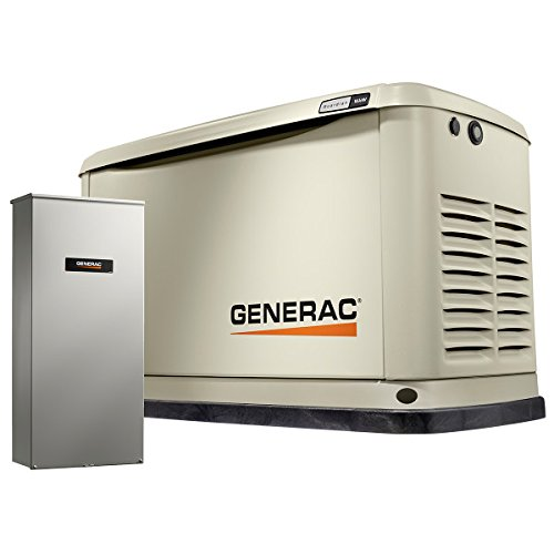 Generac 70361 Home Standby Generator 16/16 kw Air-Cooled with Wi-Fi, -