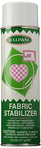 Sullivans 120 Fabric Stabilizer Spray, 14.5-Ounce, Can by Sullivans