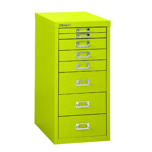 Bisley H298BNL 59 cm Home 8 Multi-Drawer - Mimosa H298BNL-bp8-Mimosa