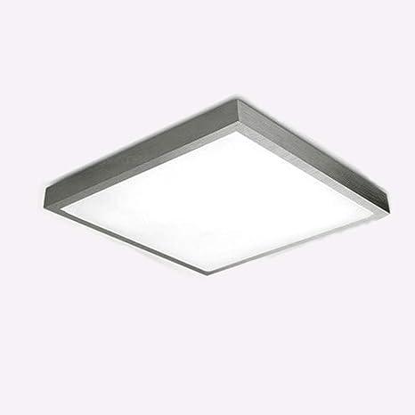 Stylehome - Lámpara LED de techo (24 W, 480 mm), marco de ...