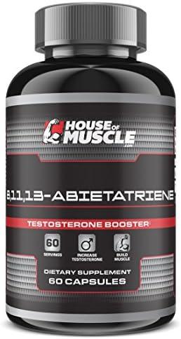 8,11,13-Abietatriene – Testosterone Booster Supplement – 60 Capsules