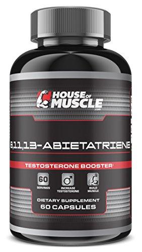 13 Abietatriene Testosterone Booster Supplement capsules
