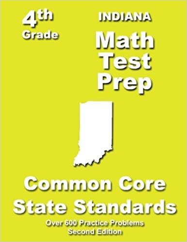 Indiana 4th Grade Math Test Prep: Common Core Learning