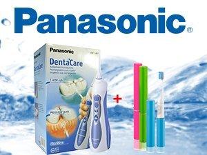 5 opinioni per Panasonic EW1211W845 Idropulsore per Doccia Orale+REGALO SONIC SPAZZOLA DI CORSA