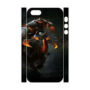 Dota 2 iphone 5 5s Cell Phone Case 3D White yyfD-309326