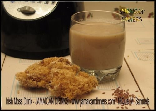 NATURAL,SEA MOSS (RAW) 4 0Z - IRISH MOSS ,CHONDRUS CRISPUS,Jamaica Drink Below