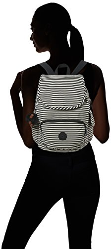 5x19 x S W Multicolour Kipling cm D Stripy Backpacks City x Pack 27x33 Marine H Women's FttYqwP