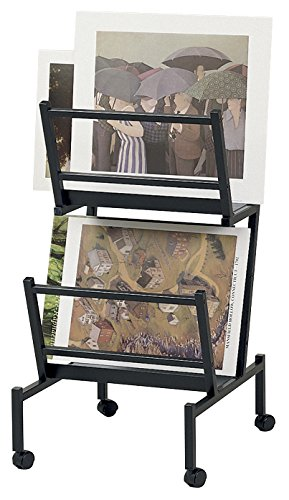 Heritage Arts PHR200-BK Print and Poster Holder 22 inches x 24 inches x 41 inches