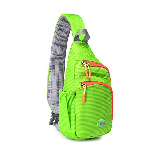 Bag Body Men's Water Backpack Solid Resistant Green Nylon Sling Cross Shoulder Chest Women Color Bags 0wf7xx