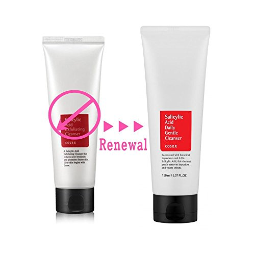 [Cosrx] Salicylic Acid Daily Gentle Cleanser 150milliliter / Foam Cleanser for Blemish Skin