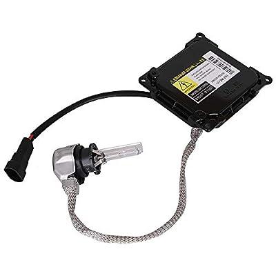 Yikesai Xenon HID Headlight Ballast Control Unit with Igniter and D4S Bulb Module for Lexus Toyota Prius Avalon Solara Venza-Replaces OE#KDLT003 DDLT003 85967-52020: Automotive