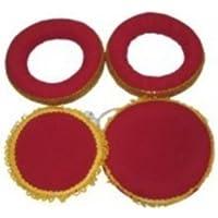 Nasir Ali Tabla Ring Pad(Red, Maroon Pack of 2)