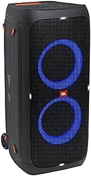 Caixa de som portátilpara festas com Bluetooth e efeitos de luzes JBLPARTYBOX310BR