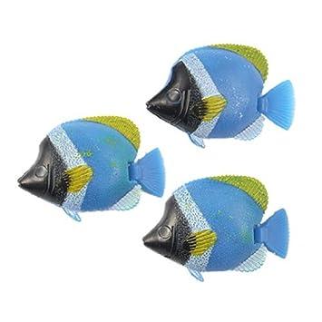 Amazon.com: eDealMax plástico acuario Aleta flotador pescado ...