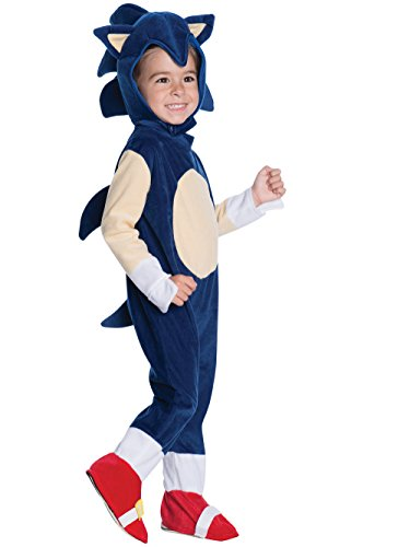 Rubie's Baby Boys' Sonic Romper Costume, Multi, Infant
