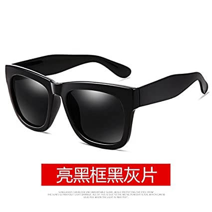 KOMNY Macho gafas de sol polarizadas gafas marea antiguo cuadro de conducción moda gafas de marco