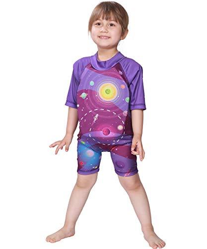 Megartico Kids' Swim Vest Float Suit Buoyancy Swimwear Trainer Boys One Piece Girls Wet Suit - Learn to Swim Shorty ()