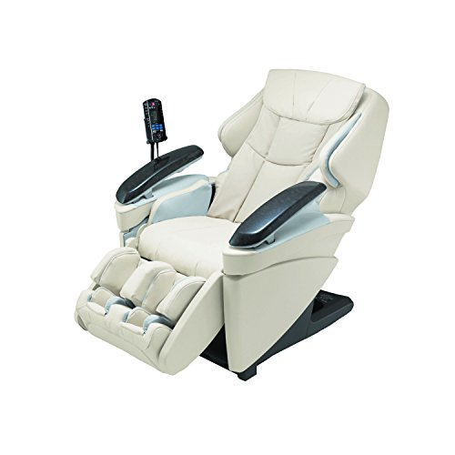 Panasonic EP Real Pro Luxury Heated Massage Chair, Ultra, MA70CX, Ivory
