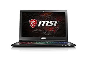 "MSI Stealth Pro GS63 7RE-095XES - Ordenador portátil de 15.6"" FHD (Kabylake i7-7700HQ, RAM de 16 GB DDR4, HDD de 1 TB y SSD de 256 GB, Nvidia GeForce GTX 1050 Ti, sin Sistema operativo) Color Negro"