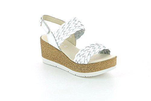Donna 40 Sa1724 Grunland Bianco Sandalo P Code OvYtF
